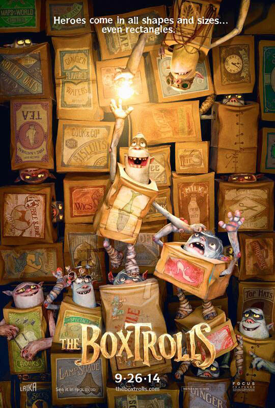 Homepage The Boxtrolls