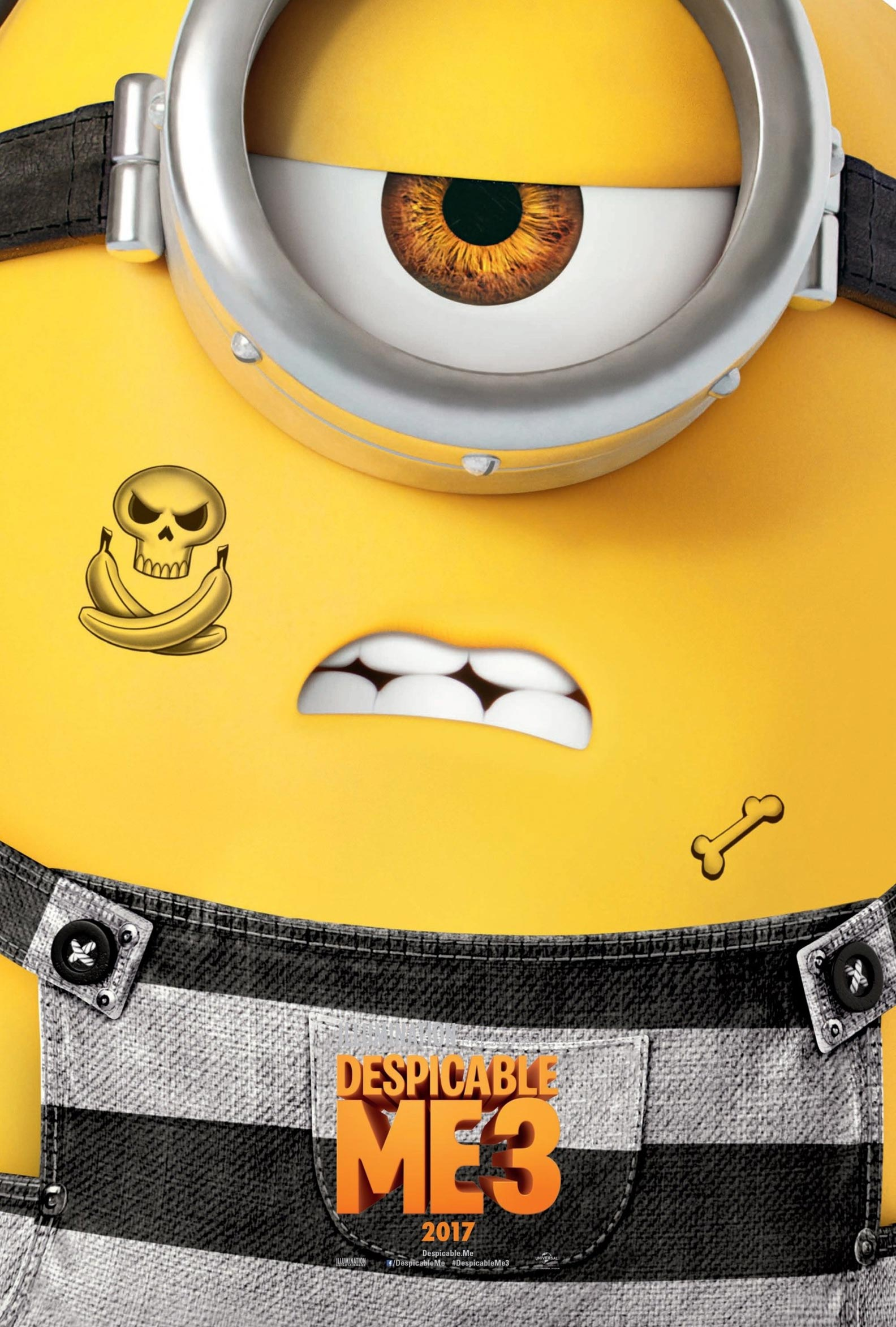 Homepage Despicable Me 3