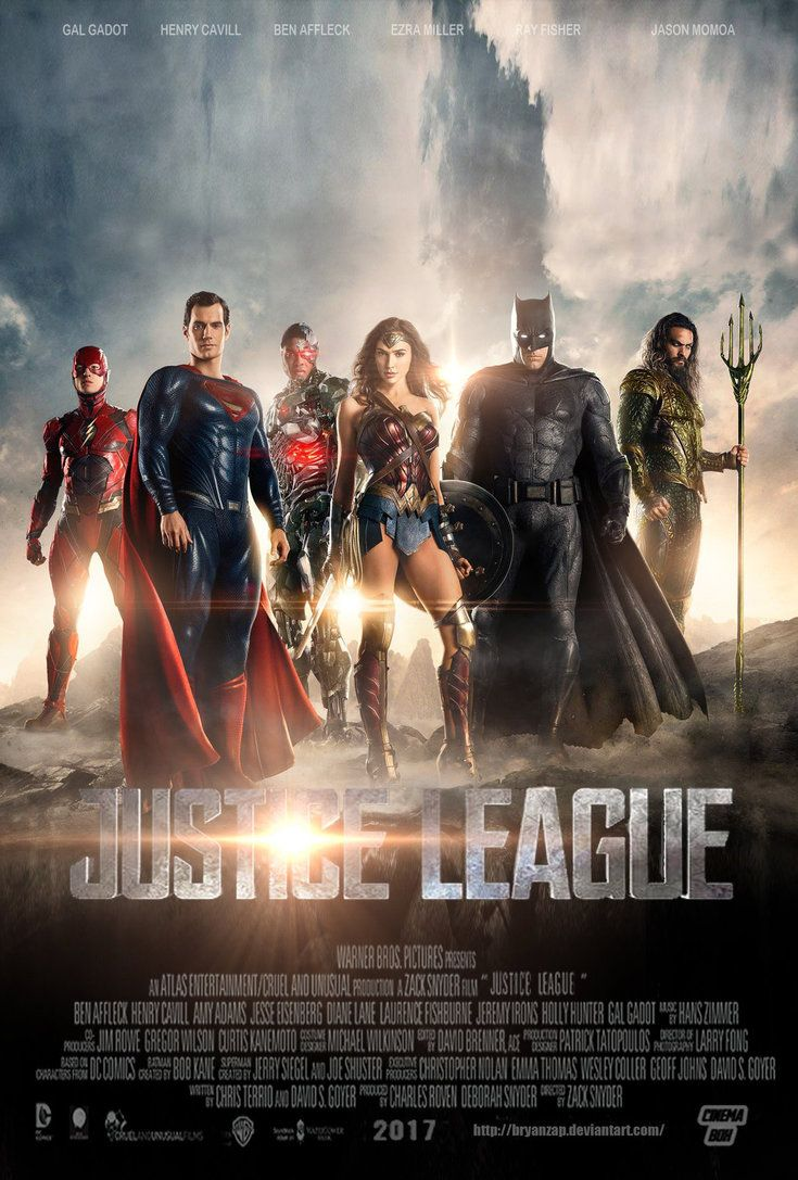 Homepage Justice League